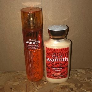 Bath and body works Cup of warmth